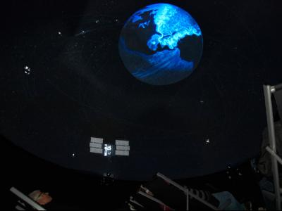 The mobile fullDome brings the planetarium to your audience
